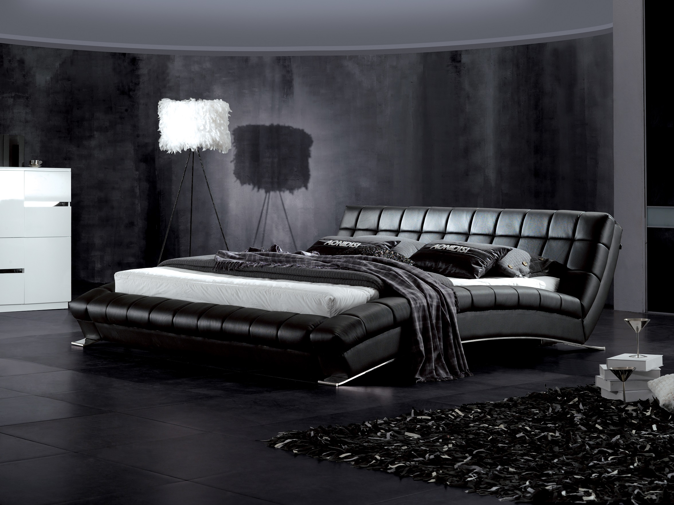 Mobilier pentru dormitor mob deco confort relaxare for Black bed bedroom ideas