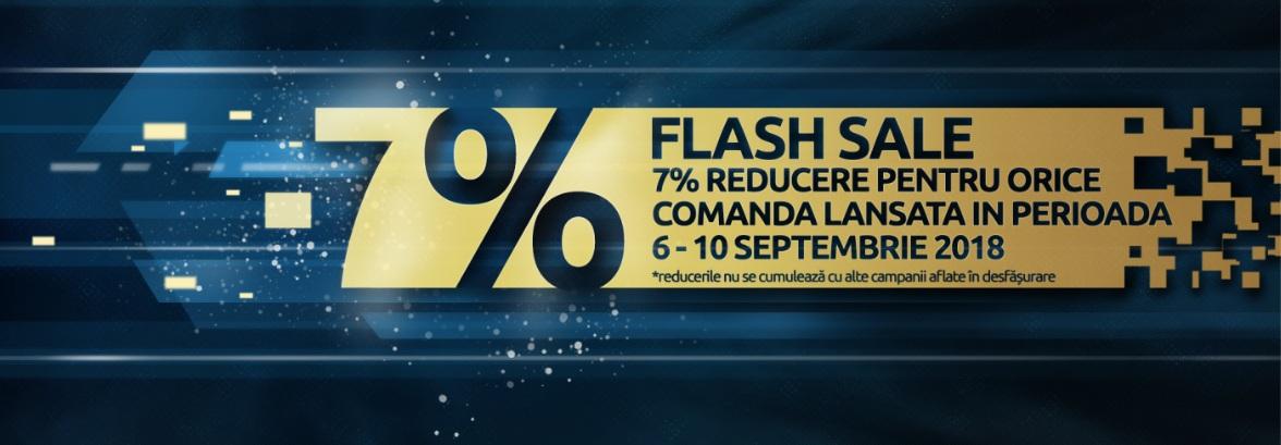 Flash 7%